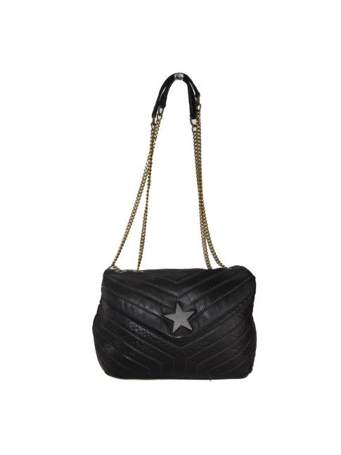 Woman vintage leather shoulder bag - YS42846