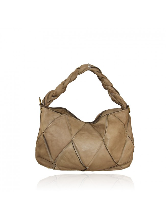 Woman washed leather bag - YK52857