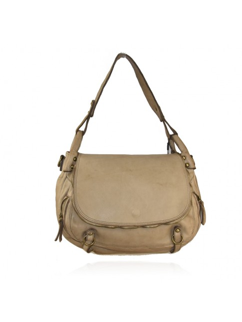 Woman washed leather bag - VX58864