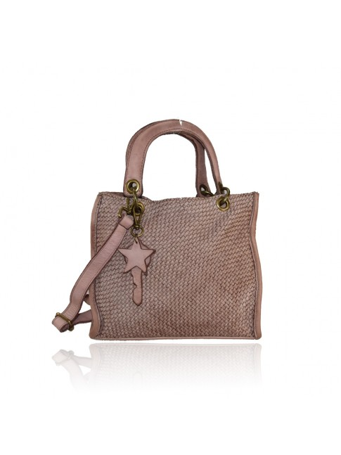 Woman washed leather hand bag - ZD48853