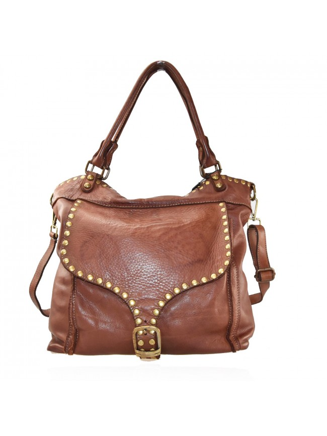 Woman washed leather bag - JL55861
