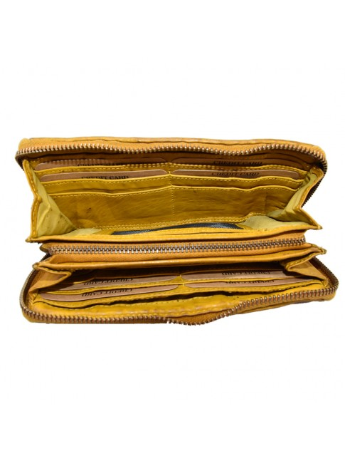 Woman washed leather wallet - 503
