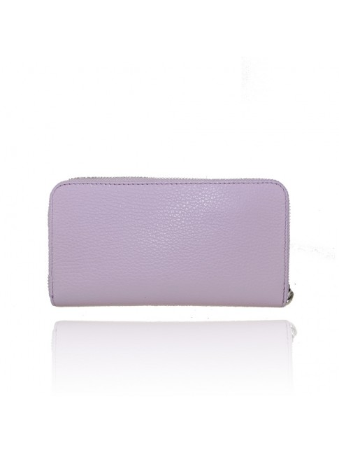 Woman leather wallet made Italy - LX11812
