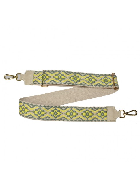 Leather & textie strap for bag - TC800