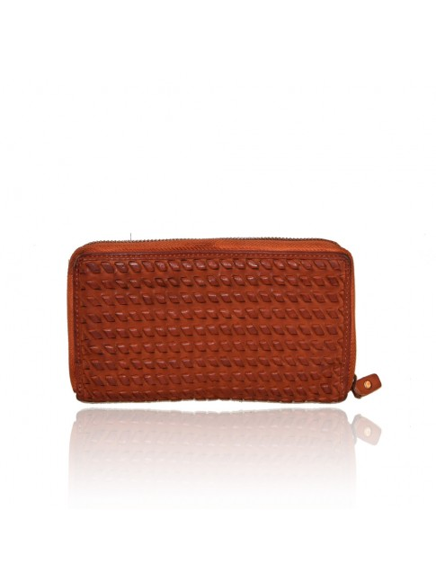 Woman washed leather wallet - 1202