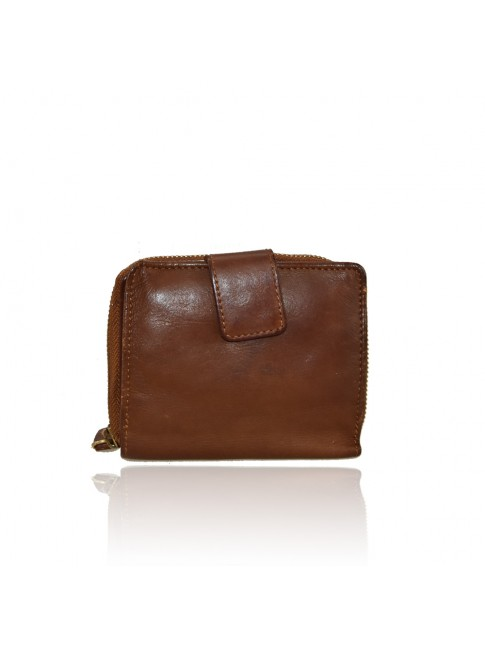 Woman washed leather wallet - 1307