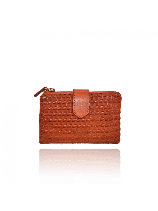 Woman washed leather wallet - 1208