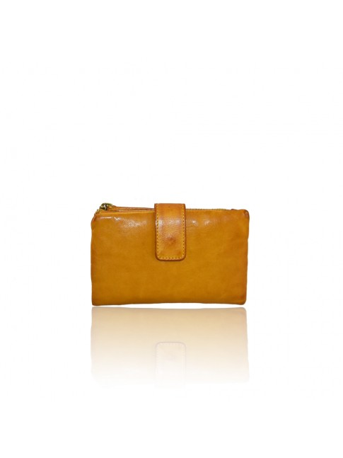Woman washed leather wallet - 1308