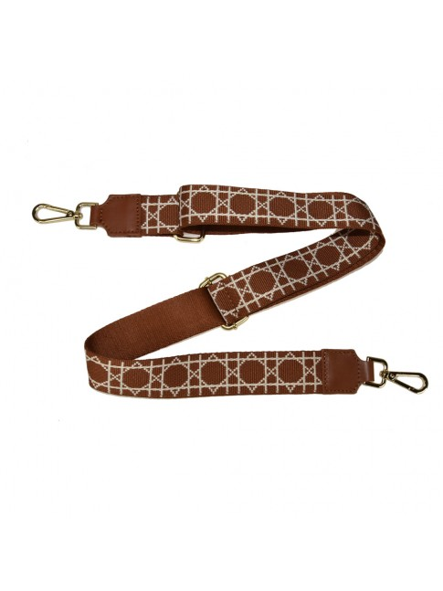 Leather & textie strap for bag - DR800