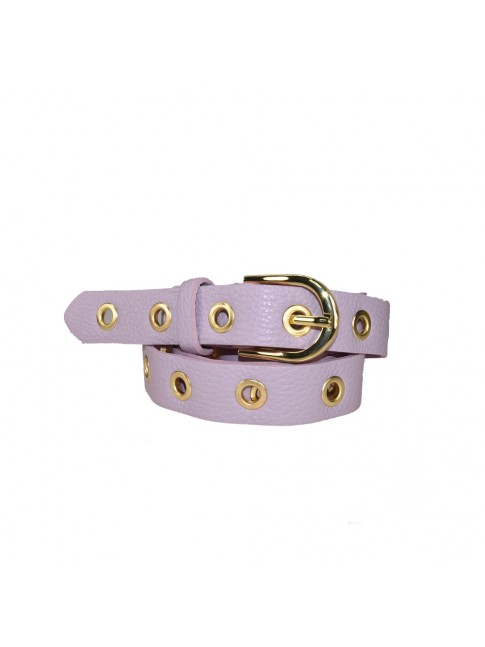 Woman leather belt made Italy - CB95