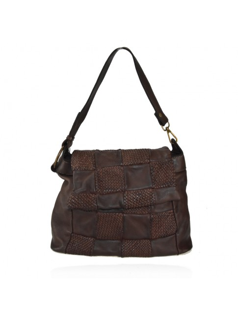 Woman washed leather bag - ZQ58864