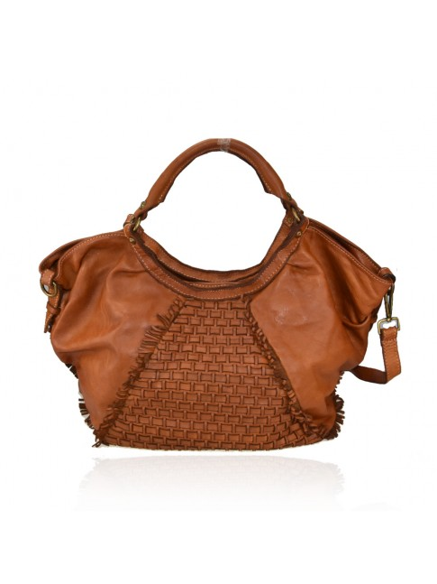 Woman washed leather bag - YW58864