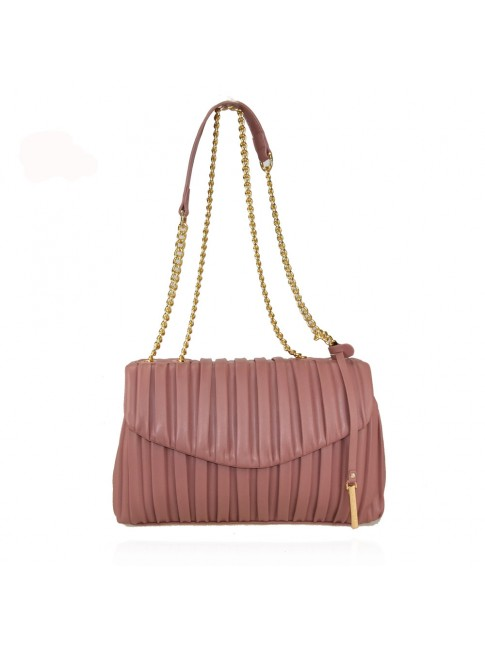 Woman synthetic leather shoulder bag - 91065