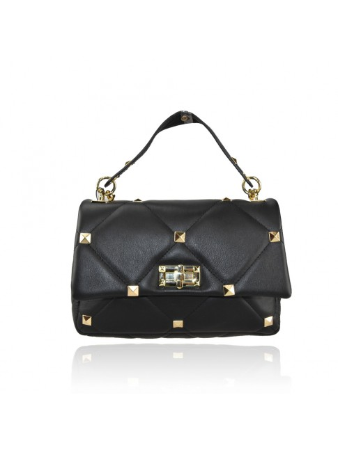 Woman leather bag with chain strap  - SV32835