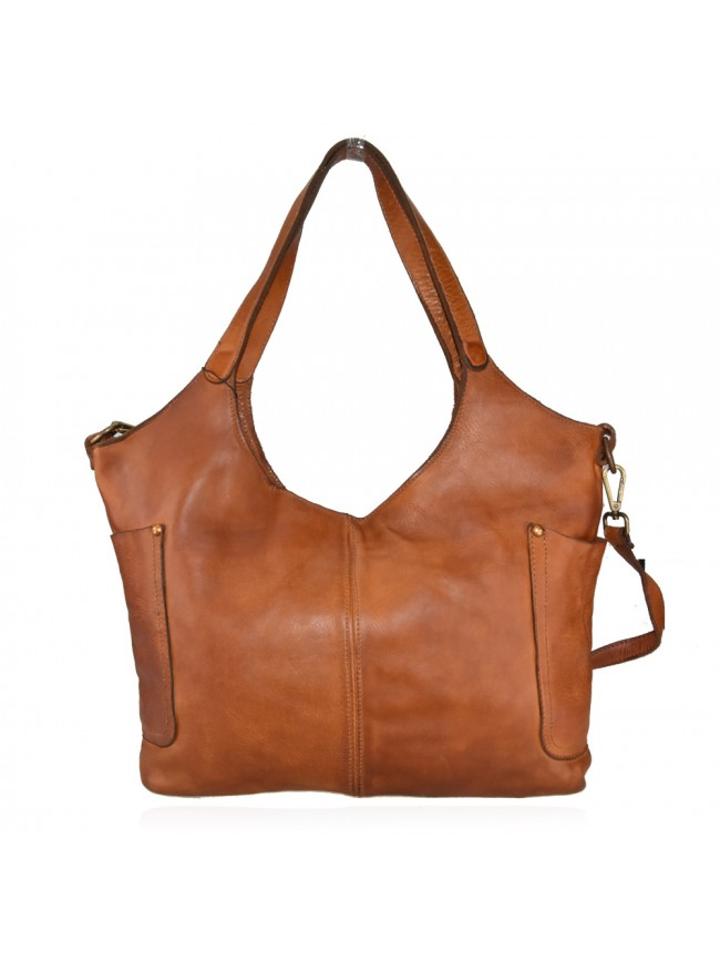 Woman washed leather bag - SL52857
