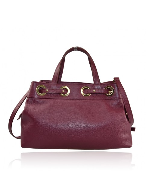 Borsa a mano donna in pelle - BY35838