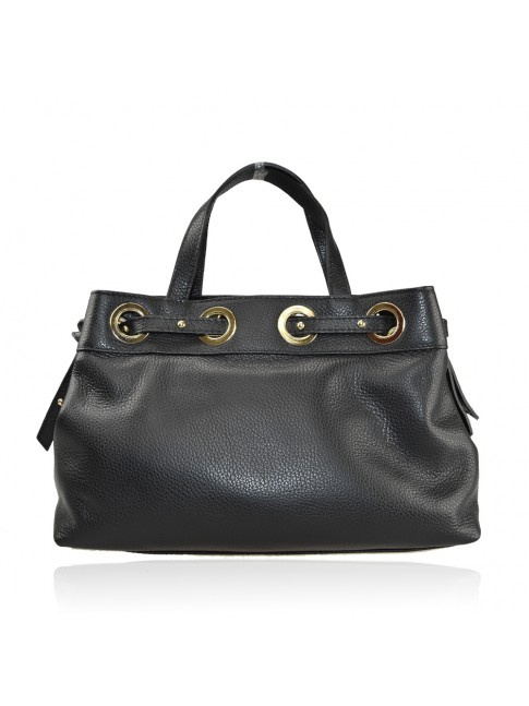 Woman leather hand bag - BY35838