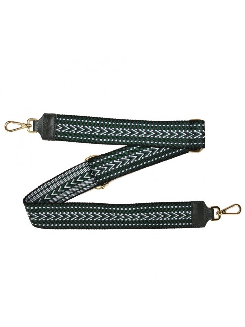 Leather & textie strap for bag - TI800