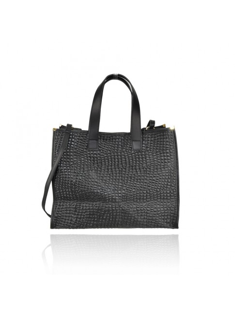 Woman stamp leather bag - VT35838