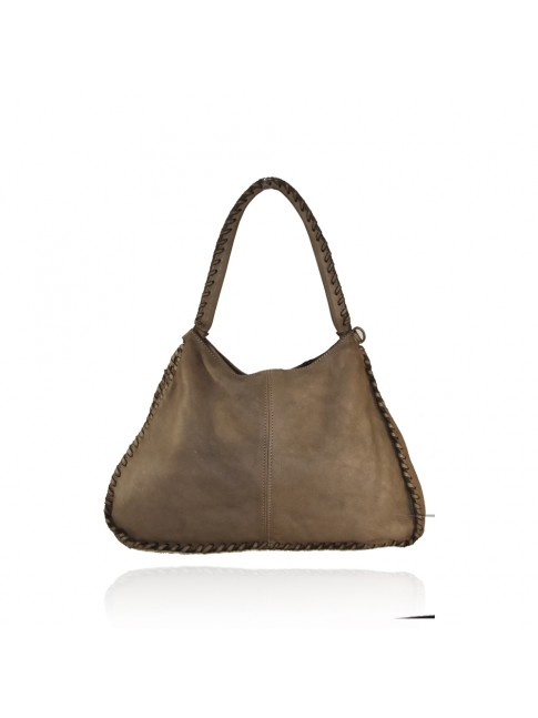 Woman washed leather bag - VN55861