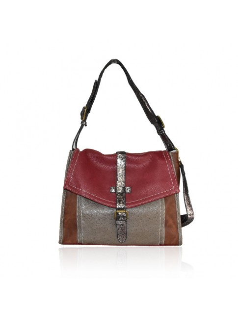 Woman synthetic leather bag - H7072