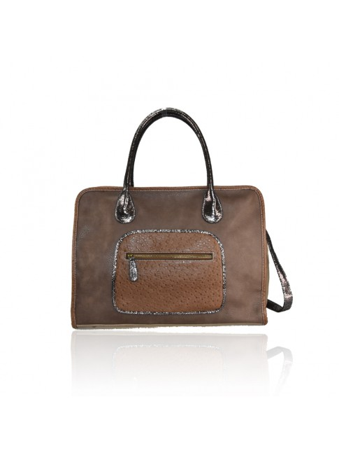 Woman synthetic leather bag -H7070