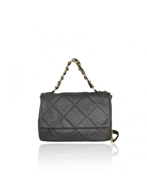 Woman synthetic leather shoulder bag - 2286