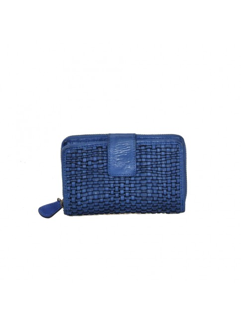 Woman washed leather wallet - 7707