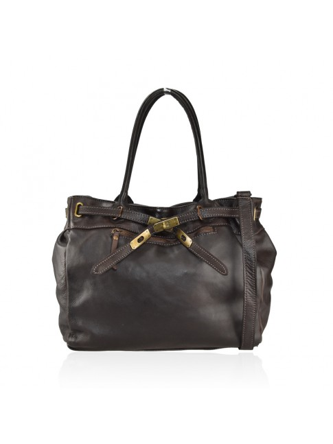 Woman washed leather bag - HL55861