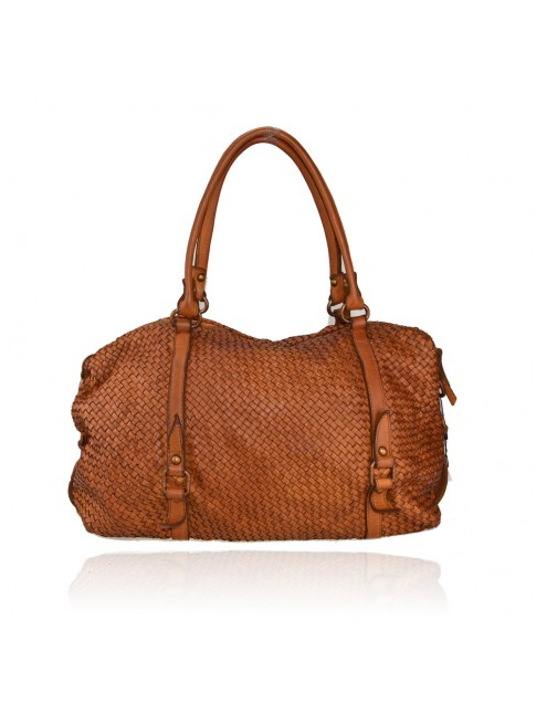 Woman washed leather bag - VS55861