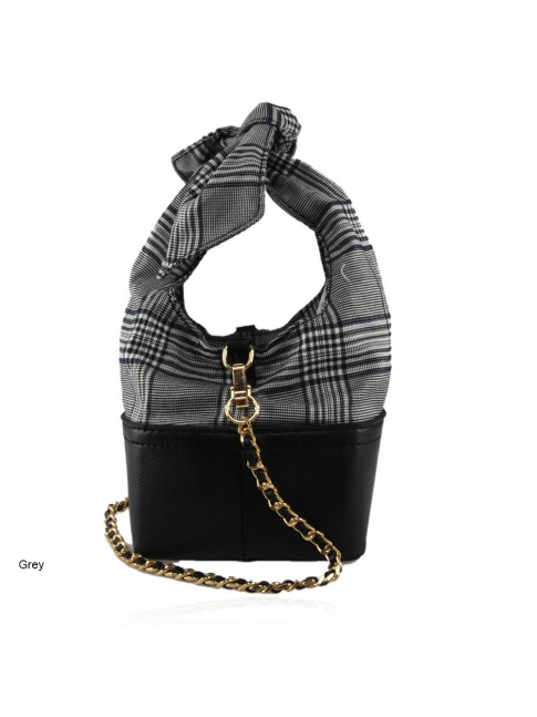 synthetic Leather bag with shoulder strap