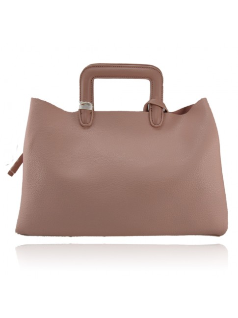 Borsa donna a mano in similpelle