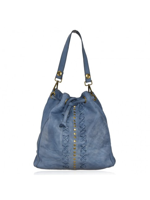 Convertible shoulder bag in backbag