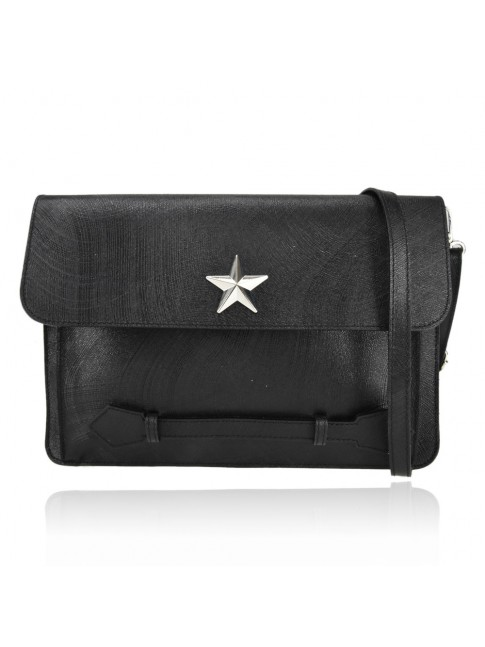 Woman leather pochette 100% made italy