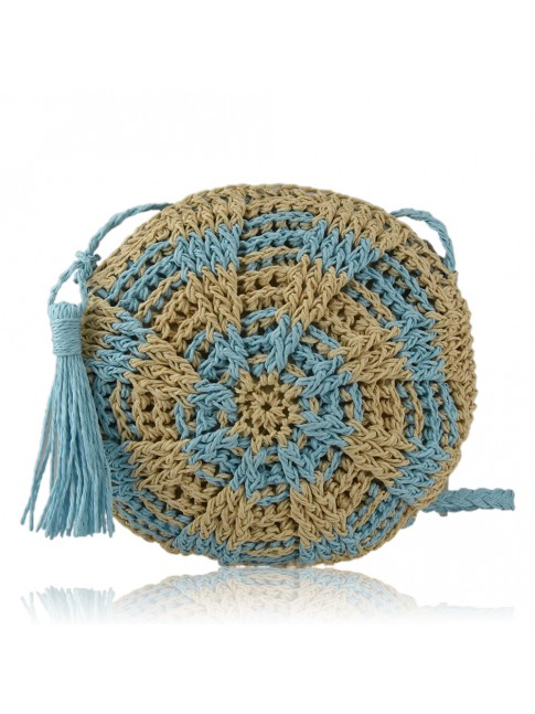 Woman raffia bag