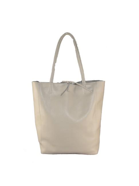 Woman leather shoulder bag with shoulder strap