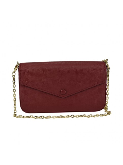 Woman leather shoulder bag