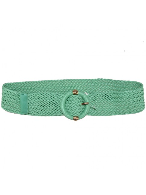 Woman leather belt