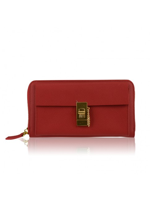 Woman leather wallet