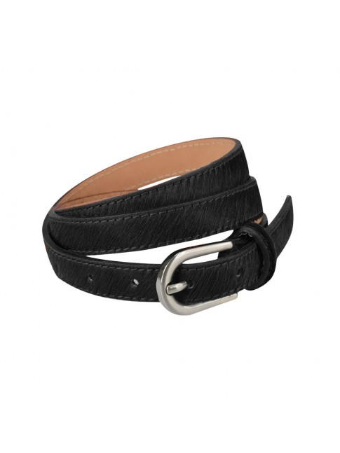 Woman belt with fantasy leather