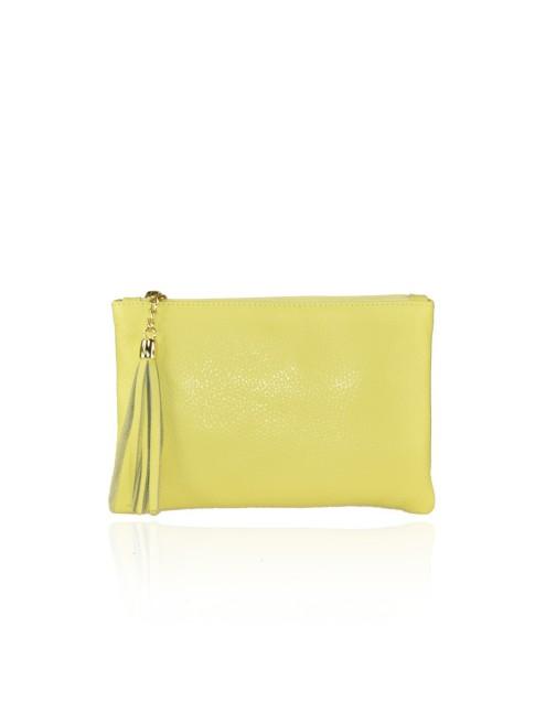 Woman leather messenger bag