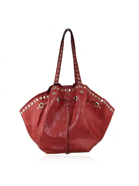 Woman synthetic leather bag